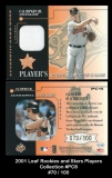 2001 Leaf Rookies and Stars Players Collection #PC6