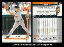 2001 Leaf Rookies and Stars Samples #8