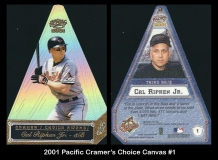 2001 Pacific Cramers Choice Canvas #1