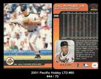 2001 Pacific Hobby LTD #60