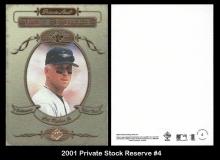 2001 Private Stock Reserve #4