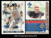 2001 Private Stock Silver #19