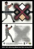 2001 SPx Winning Materials Bat Jersey #CR
