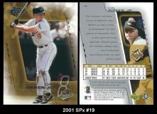 2001 SPx #19