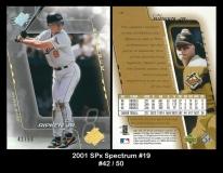 2001 SPx Spectrum #19