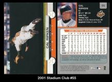 2001 Stadium Club #55