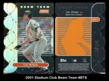 2001 Stadium Club Beam Team #BT8