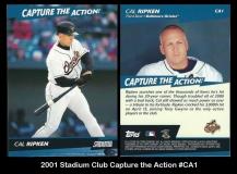 2001 Stadium Club Capture the Action #CA1
