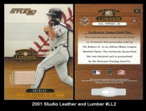 2001 Studio Leather and Lumber #LL2