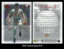 2001 Sweet Spot #13
