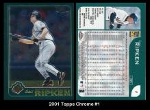 2001 Topps Chrome #1