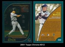 2001 Topps Chrome #312