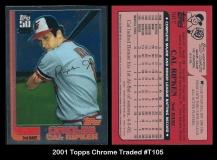 2001 Topps Chrome Traded #T105