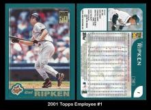 2001 Topps Employee #1