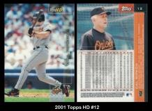 2001 Topps HD #12