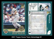 2001 Topps Home Team Advantage #1