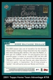 2001 Topps Home Team Advantage #755