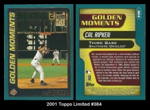 2001 Topps Limited #284
