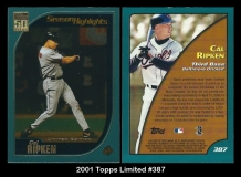 2001 Topps Limited #387