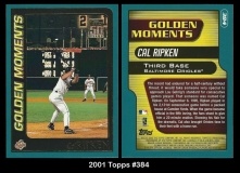 2001 Topps #384