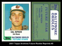 2001 Topps Archives Future Rookie Reprints #3