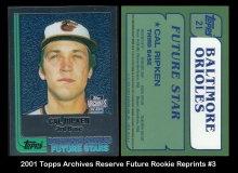 2001 Topps Archives Reserve Future Rookie Reprints #3