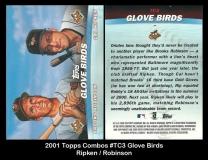 2001 Topps Combos #TC3 Glove Birds