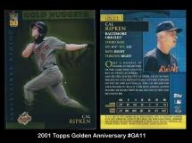2001 Topps Golden Anniversary #GA11