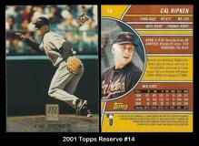 2001 Topps Reserve #14
