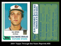 2001 Topps Through the Years Reprints #35
