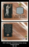 2001 Ultimate Collection Game Jersey Copper #UCR