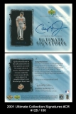 2001 Ultimate Collection Signatures #CR