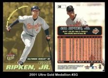 2001 Ultra Gold Medallion #3G