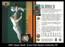 2001 Upper Deck Coca Cola Ripken Collection #3