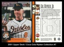2001 Upper Deck Coca Cola Ripken Collection #7