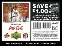 2001 Upper Deck Coca Cola Ripken Collection #NNO