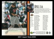 2001 Upper Deck #265