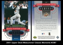2001 Upper Deck Midsummer Classic Moments #CM7