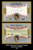 2002 Sweet Spot Classics Hawaii Signatures #SCR