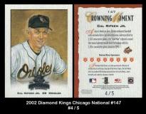2002 Diamond Kings Chicago National #147