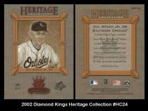 2002 Diamond Kings Heritage Collection #HC24