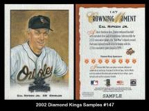 2002 Diamond Kings Samples #147