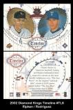 2002 Diamond Kings Timeline #TL8