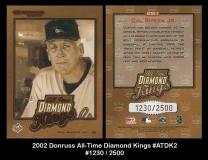 2002 Donruss All-Time Diamond Kings #ATDK2