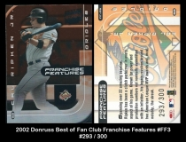 2002 Donruss Best of Fan Club Franchise Features #FF3