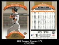 2002 Donruss Classics #174