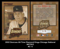 2002-Donruss-All-Time-Diamond-Kings-Chicago-National-ATDK2