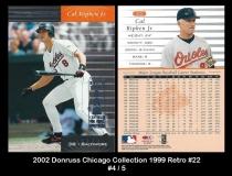 2002 Donruss Chicago Collection 1999 Retro #22