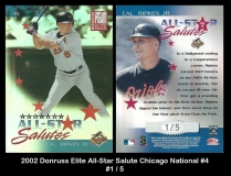 2002 Donruss Elite All-Star Salutes Chicaco National #4