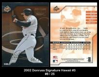 2002 Donruss Signature Hawaii #3